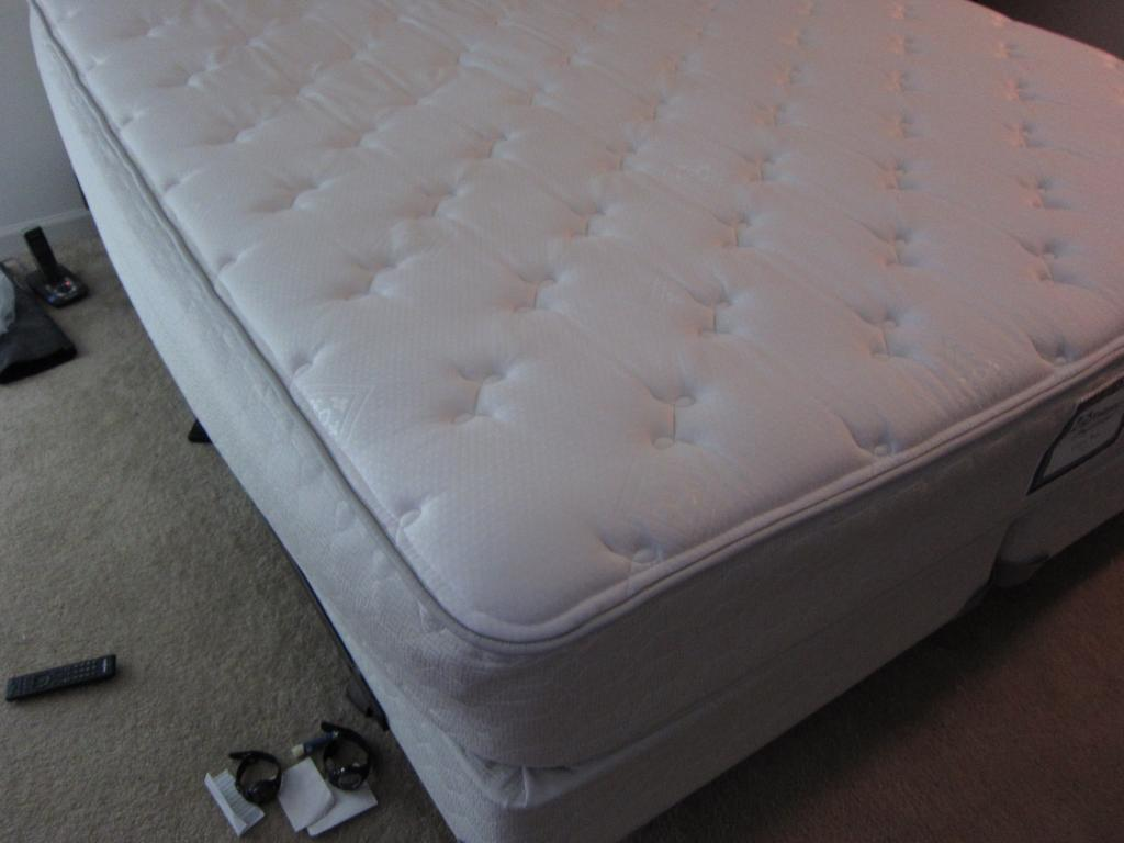 On Each Side Of The Bed Between Cotton Batting And Sculptured Foam Section This Feels Much Better Sagging Is Not Noticeable Now